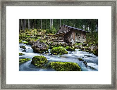 The Forgotten Mill Framed Print by JR Photography