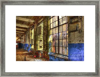 The Forgotten Wall Mary Leila Cotton Mill  Framed Print