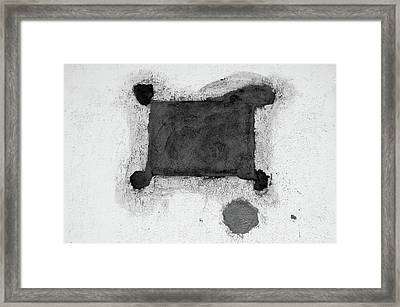 The Form Follows The Function  Framed Print