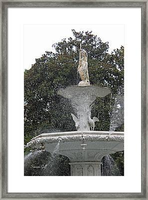 The Forsyth Fountain Framed Print