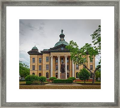 The Fort Bend County Courthouse Framed Print by Mountain Dreams