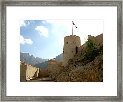 The Fort Framed Print by Sunaina Serna Ahluwalia