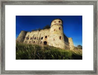 The Fortress - La Fortezza Framed Print by Enrico Pelos