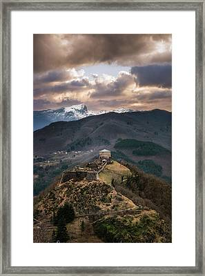 The Fortress Framed Print