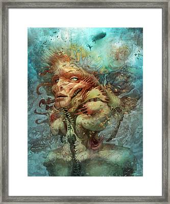 The Fortress Mimic   Framed Print