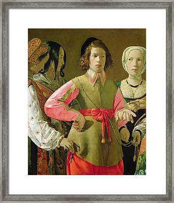 The Fortune Teller Framed Print