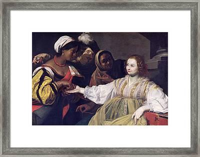 The Fortune Teller Framed Print by Nicolas Regnier