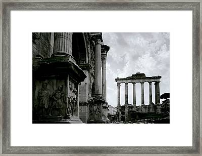 The Forum Framed Print by Warren Home Decor