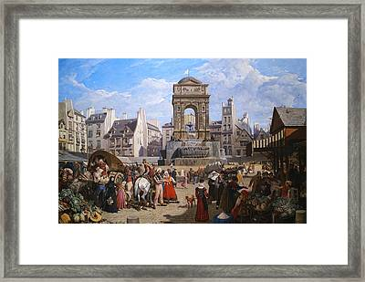 The Fountain Of The Holy Innocents Framed Print by Mountain Dreams