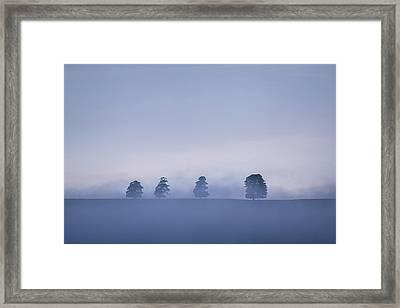 The Four Framed Print