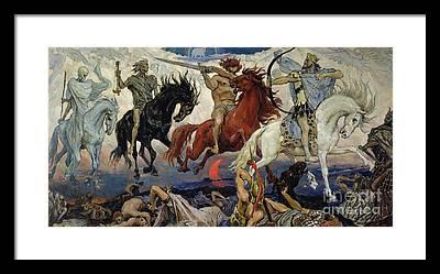 God Of War Framed Prints