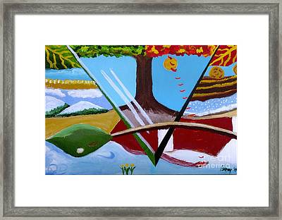 The Four Seasons Framed Print by Rod Ismay