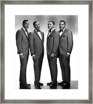 The Four Tops, Abdul Duke Fakir, Levi Framed Print by Everett