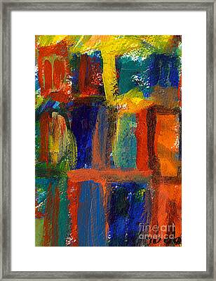 The Foursome Framed Print