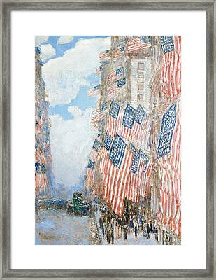 The Fourth Of July Framed Print