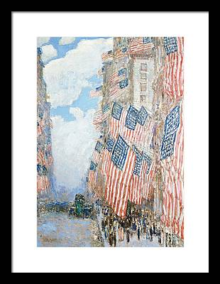 American Impressionist Paintings Framed Prints