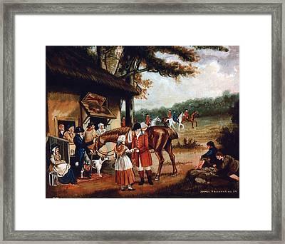 The Fox Inn Framed Print by James Richardson
