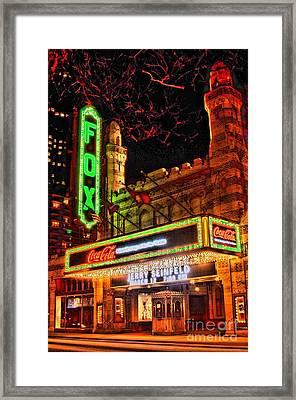 The Fox Theater Atlanta Ga. Framed Print by Corky Willis Atlanta Photography