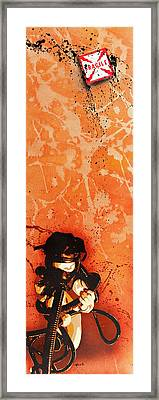 The Frailty Of Female Fundamentals In A Fragile State Framed Print by Tai Taeoalii