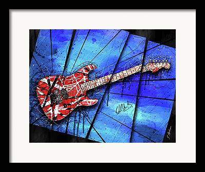 Iconic Guitar Framed Prints