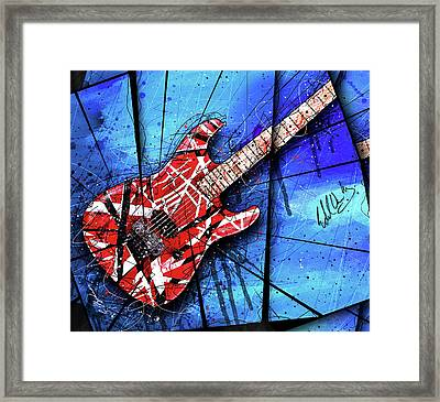 The Frankenstrat Vii Cropped Framed Print by Gary Bodnar