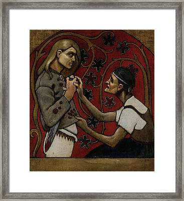 The Fratricide Framed Print