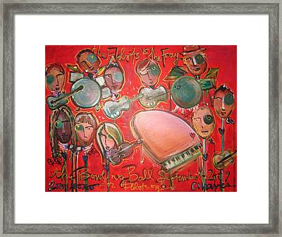 The Fray And The Flobots Framed Print