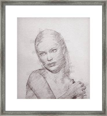 The Free Woman Framed Print