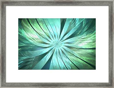 The Freshness Of A Spring Morning Framed Print