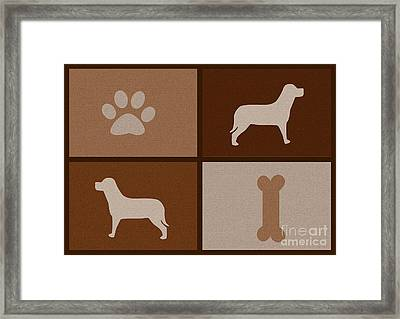 The Friend - For Dog Lovers Framed Print