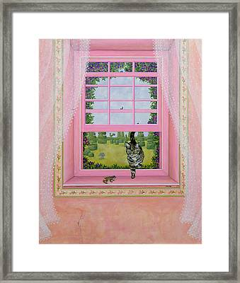 The Frog Framed Print by Ditz