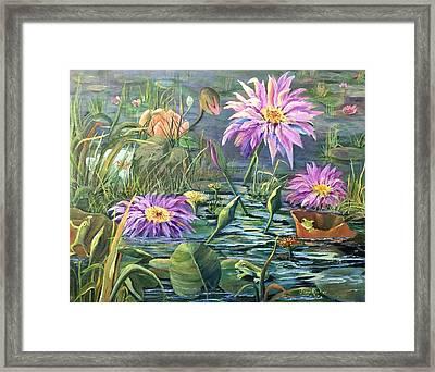 The Frog Pond Framed Print