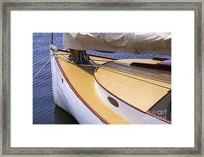 The Front Half Framed Print