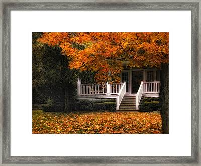 The Front Porch Framed Print by Jessica Jenney