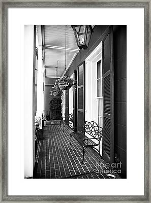 The Front Porch Framed Print by John Rizzuto