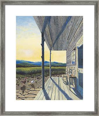 The Front Porch Framed Print by Susan Schneider