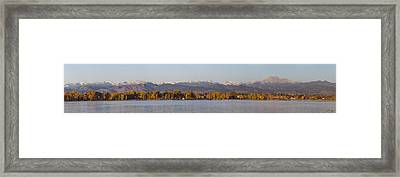 The Front Range Framed Print by Aaron Spong