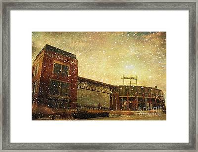 The Frozen Tundra Framed Print