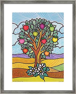 The Fruit Of The Spirit Tree Framed Print