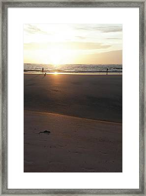 Framed Print featuring the photograph The Full Sun by Eric Christopher Jackson