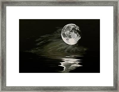 The Fullest Moon Framed Print by Elisabeth Dubois