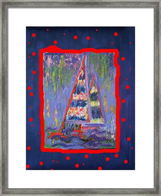 The Fun Of Sailing Framed Print by Karin Eisermann