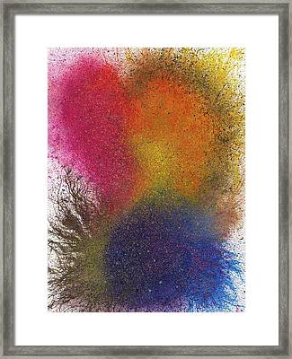 The Fusion Of Endless Love And Light #676 Framed Print
