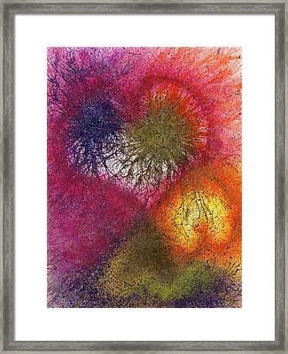The Fusion Of Endless Love And Light #678 Framed Print by Rainbow Artist Orlando L aka Kevin Orlando Lau