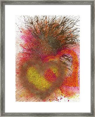The Fusion Of Endless Love And Light #679 Framed Print
