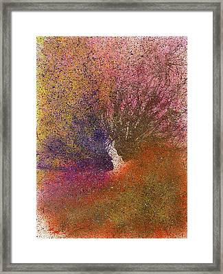 The Fusion Of Endless Love And Light #680 Framed Print
