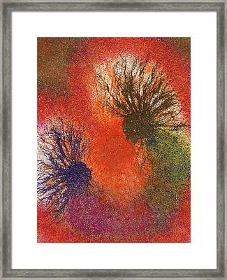 The Fusion Of Endless Love And Light #681 Framed Print by Rainbow Artist Orlando L aka Kevin Orlando Lau