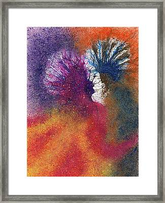 The Fusion Of Endless Love And Light #685 Framed Print by Rainbow Artist Orlando L aka Kevin Orlando Lau