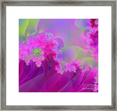 The Futility Of Reason Framed Print by Mindy Sommers