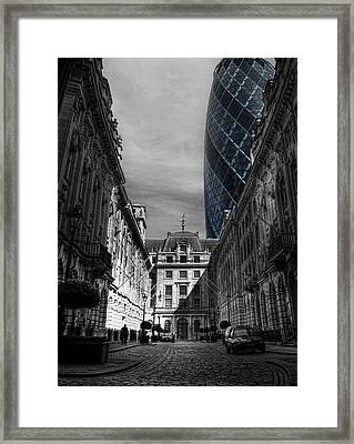 The Future Behind The Past Framed Print by Yhun Suarez